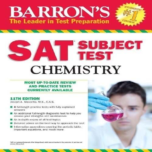 کتاب Barrons SAT Subject Test - Chemistry - ویرایش یازدهم