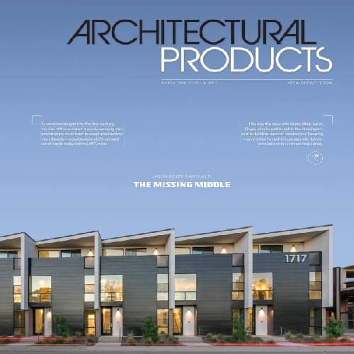 مجله Architectural products - مارس 2018