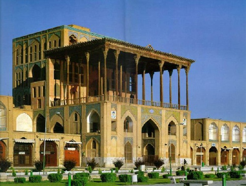 Powerpoint file of Ali Qapu Palace-پاورپوینت کاخ عالی قاپو به زبان انگلیسی