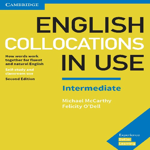 کتاب Cambridge English Collocations in Use سطح Intermediate - ویرایش دوم (2017)