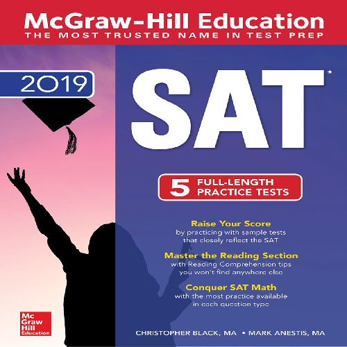 کتاب McGraw-Hill Education SAT 2019