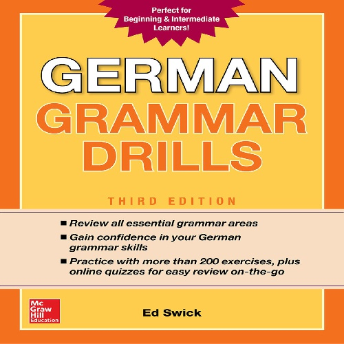 کتاب German Grammar Drills - ویرایش سوم (2018)