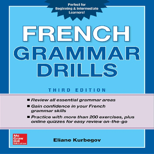 کتاب French Grammar Drills - ویرایش سوم (2018)