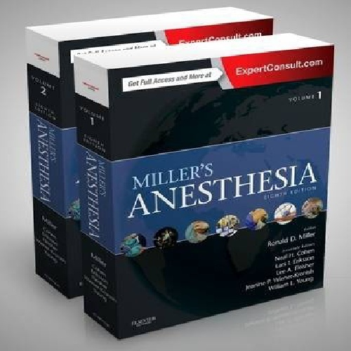 Miller's Anesthesia Separated Chapters, 2-Volume Set 8th Edition2015