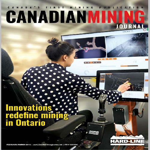 دانلود مجله تخصصی Canadian Mining Journal / February - March 2019