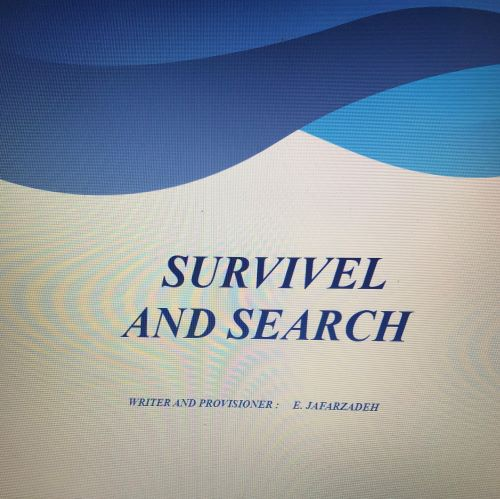 SEARCH AND SURVIVAL